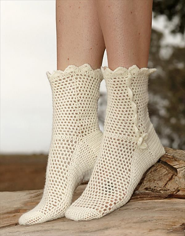 6 free Crochet Socks Pattern | Носки | Pinterest | Tejido, Ganchillo ...