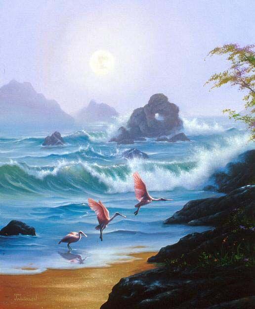 Jim Warren - Space Games   Art, Surreal art, Surreal artwork