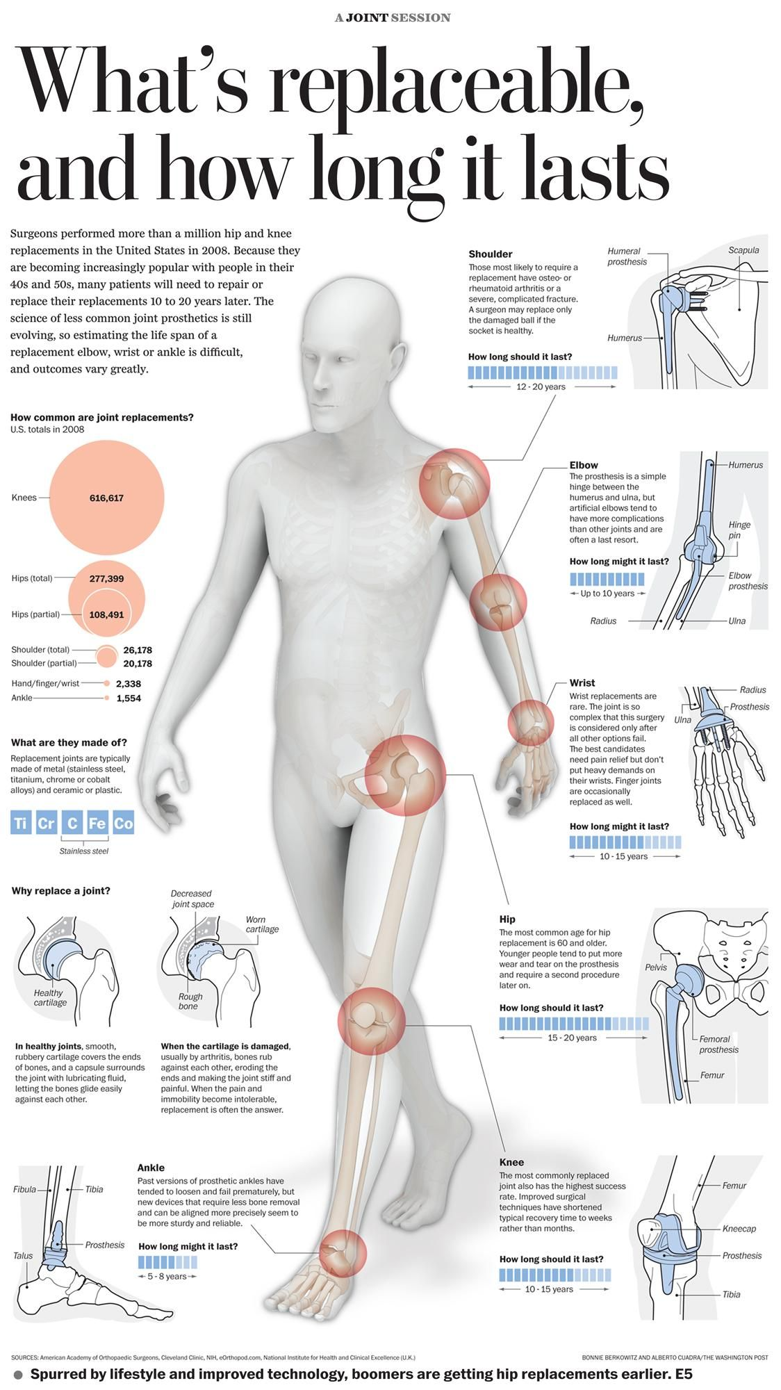 This Is A Very Interesting Infographic What S Replaceable On Your Body And How Long Does It Last Write Som Physical Therapy Massage Therapy Joint Replacement