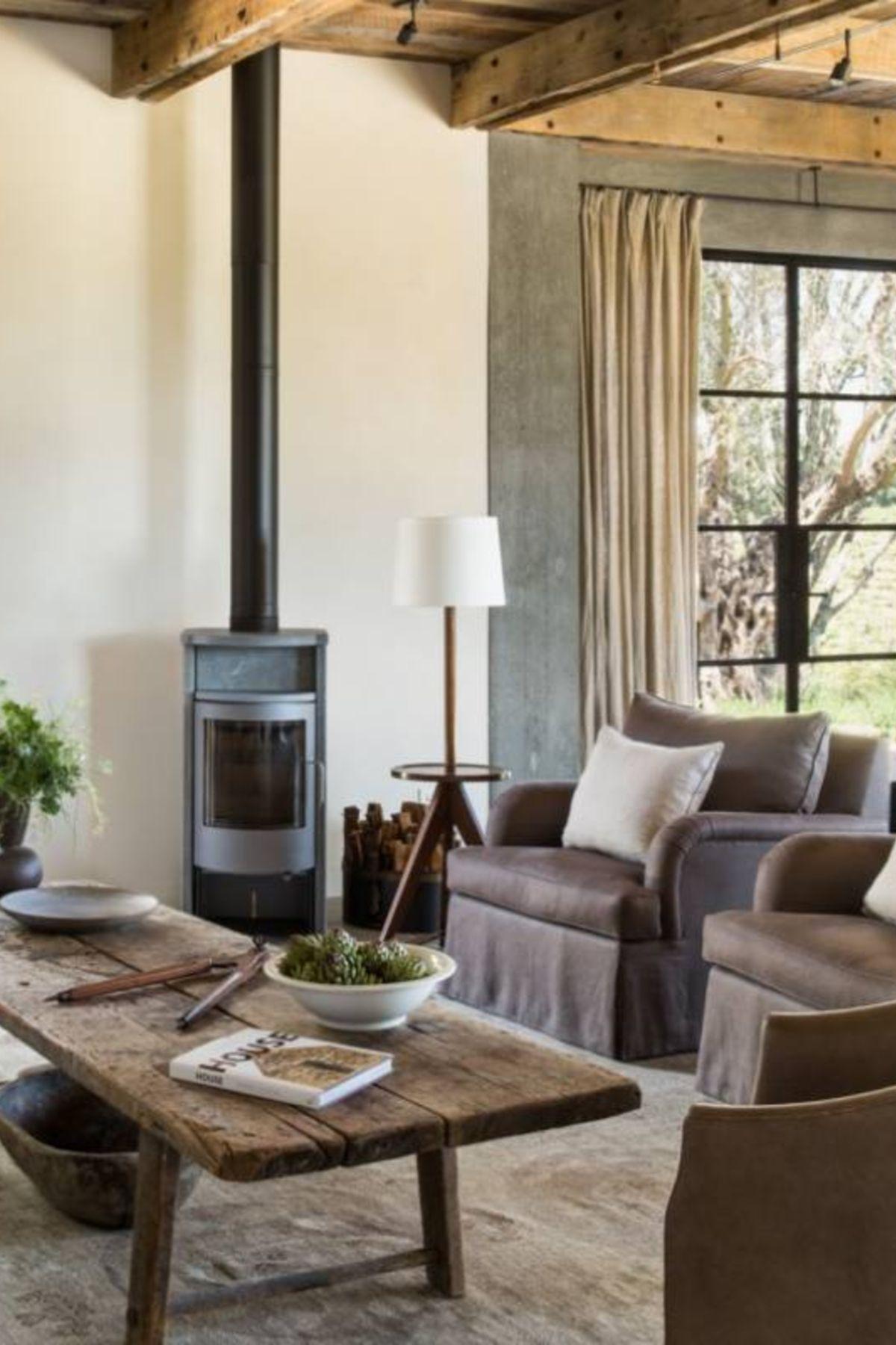 51+ Rustic Farmhouse Living Room Decor Ideas | Rustic ...