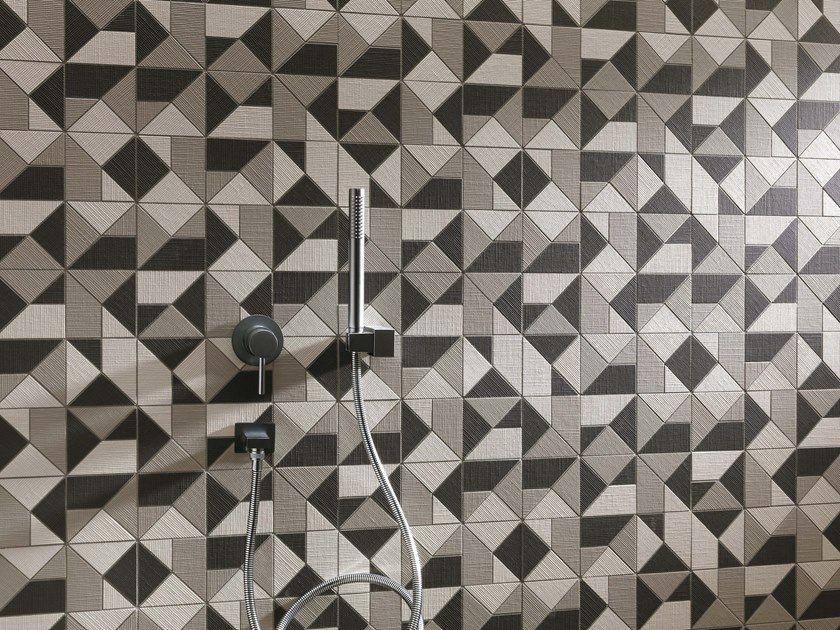 Mosaico en pasta blanca milano & wall mosaico by fap ceramiche