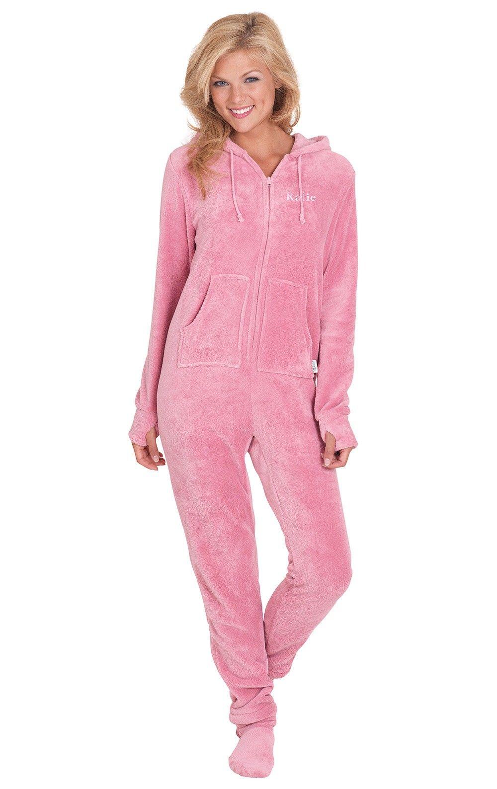 d543cc0b22 Hoodie-Footie™ - Pink