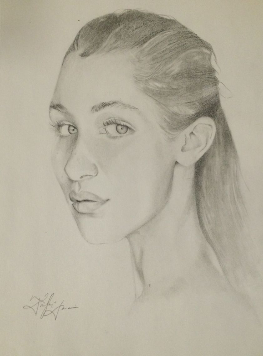 Pencil Drawing 2015