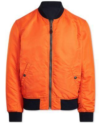 Jacket Polo Bomber Twill Ralph Reversible Aviator Men's Lauren dCrhtsQ