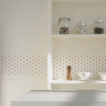 Pochoir Frise Petits Pois Maison Decorative Leroy Merlin