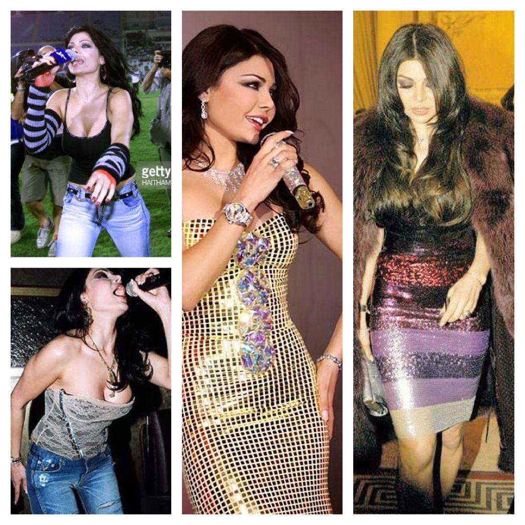 Haifa Wehbe - before/ after money, she looks cheap | Money ...