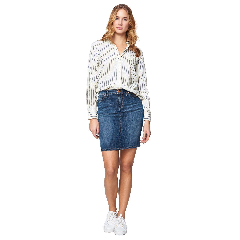 GANT Women's Classic Denim Skirt Dark Blue Worn In | Official Site ...