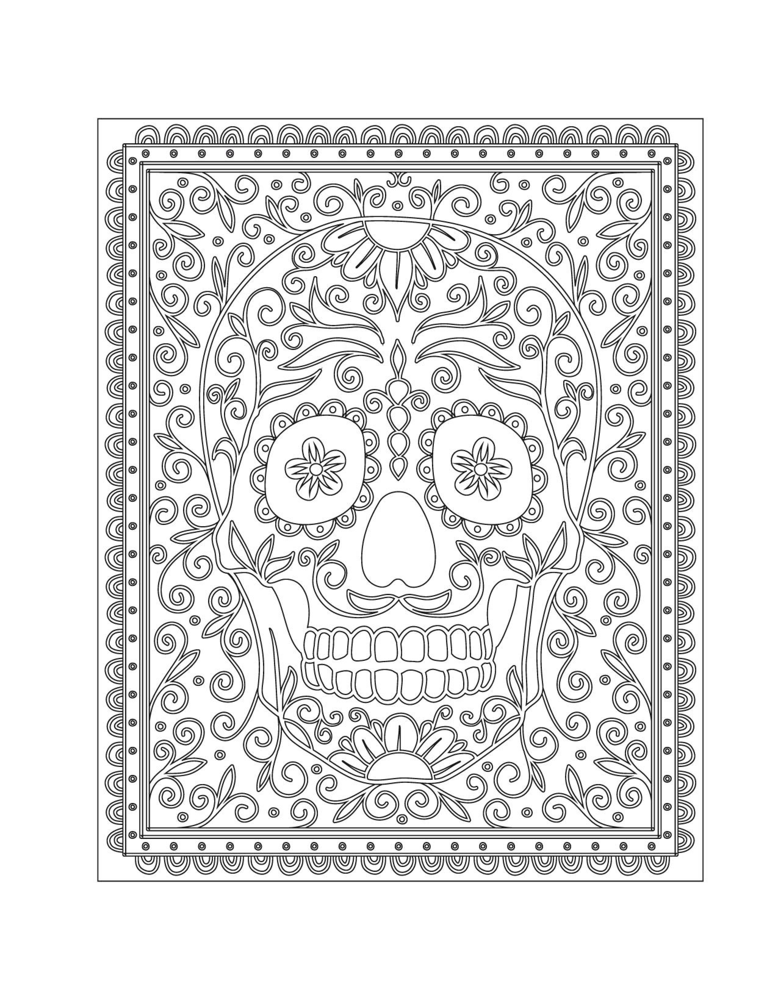 Pin de Małgorzata Kitka en Coloring pages to print - Skulls | Pinterest