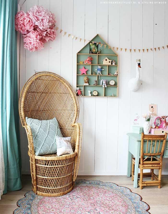 Meisjes slaapkamer ideeen | Kinderkamerstylist | Kinderkamer ...