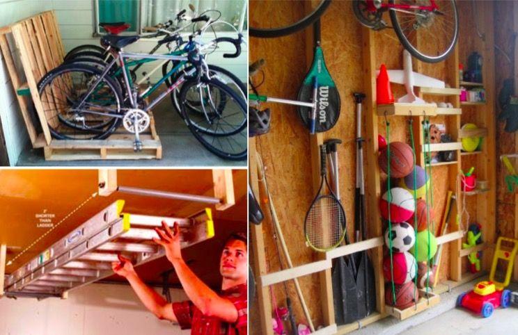 18 idées de rangements pour un garage désencombré et organisé