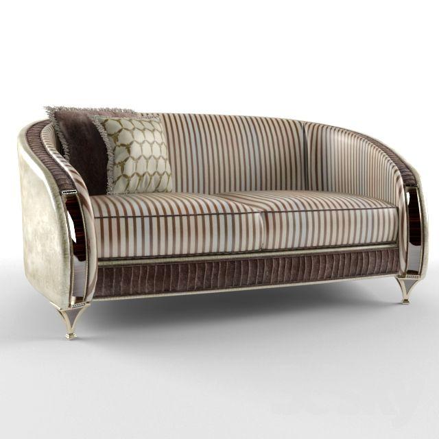 Double Sofa, ARREDO CLASSIC - ROSSINI