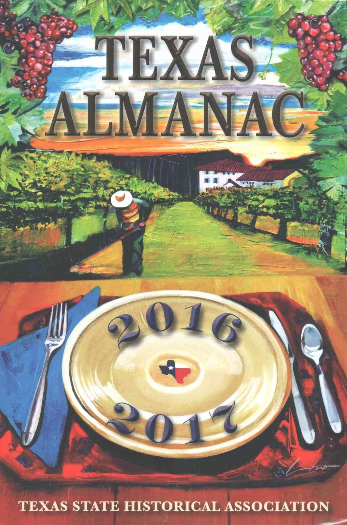 Texas Almanac 20162017 Texas, Dallas morning news, Almanac