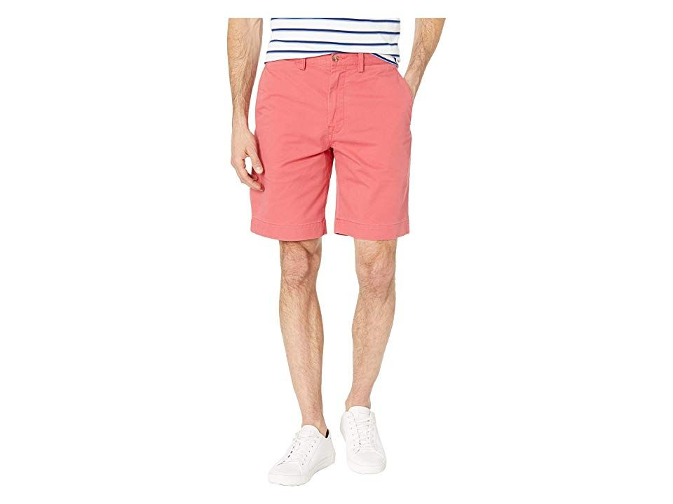 Polo Ralph Lauren Stretch Classic Fit Chino Shorts Nantucket Red Mens Shorts Cleverly crafted in a range of timeless tones the Polo Ralph Lauren Stretch Chino Shorts are...
