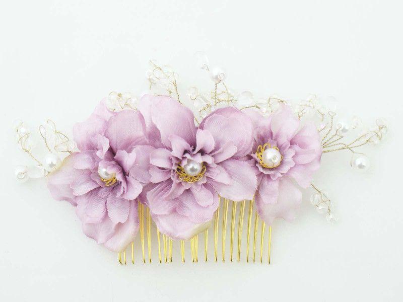 Kwiatowy Grzebien Do Wlosow Lolawhite Grzebyki Do Wlosow Stud Earrings Jewelry Earrings