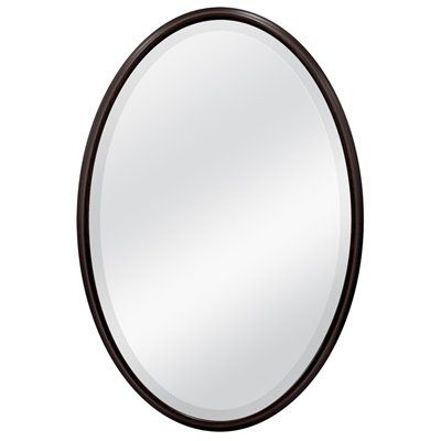 Mcs Industries Wall Mirror 49810 31 In X 21 In Infinity Oil Rubbed