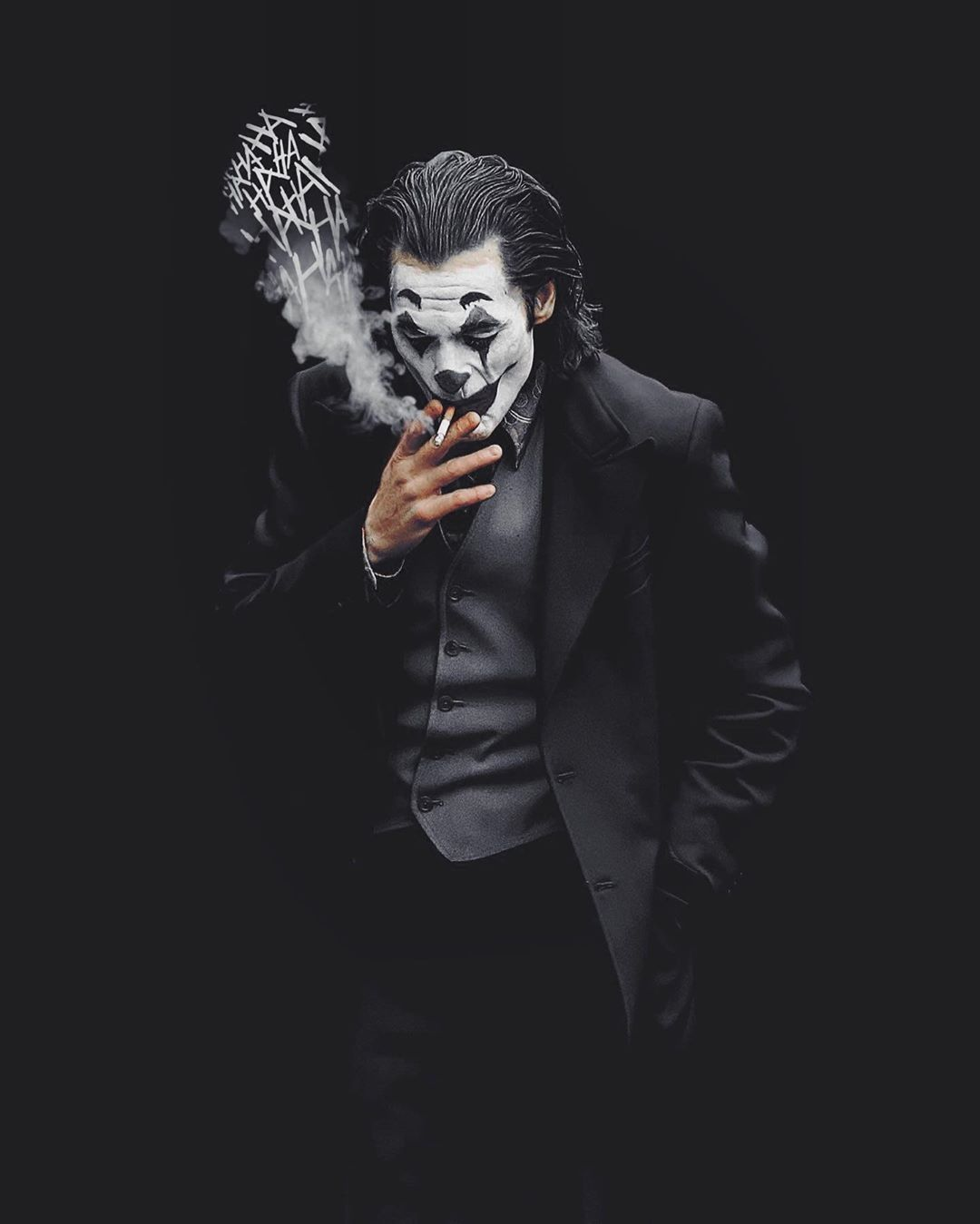 Black Joker Wallpapers Seniman Jalanan Seniman Gambar Karakter
