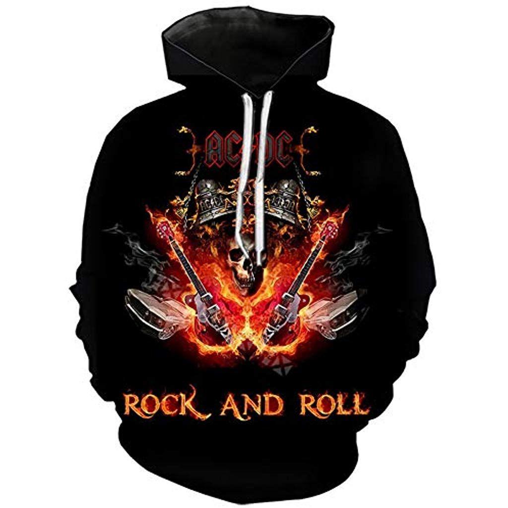 AC//DC Uomo Rock Or Bust Felpa con cappuccio