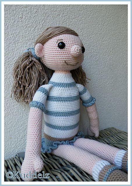 Ravelry Large Girl Doll Pattern By Veronique Smit Amigurumi Dolls
