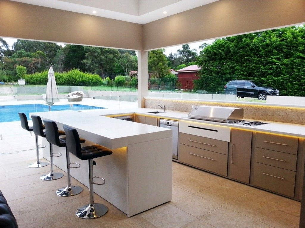 Stainless Steel Outdoor Grill Cabinets Kitchen Drawers Polymer Sink Cabinet Waterproo Outdoor Kitchen Countertops Outdoor Kitchen Design