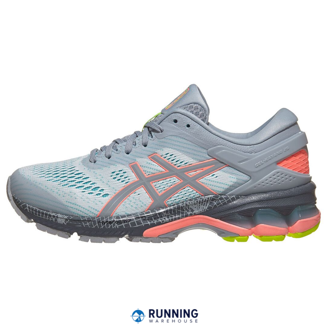 lapso Especial Barón  Featuring an all-new design, the ASICS Gel Kayano 26 uses high-quality  materials to provide a softer, more comfo… | Running shoes design, Womens  running gear, Asics