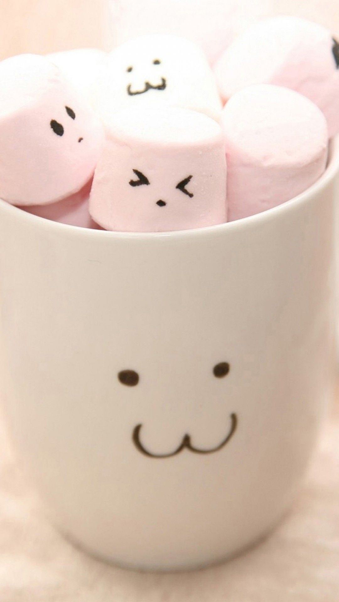 Cute marshmallows mobile wallpaper pinterest mobile cute marshmallow wallpaper iphone is high definition phone wallpaper you can make this wallpaper for your iphone x backgrounds tablet android or ipad voltagebd Gallery