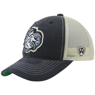 North Carolina Tar Heels Unc Youth Mesh Trucker Adjustable Hat Navy Blue Natural North Carolina Tar Heels Tar Heels Kids Hats