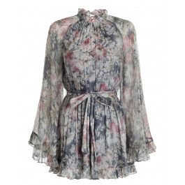 26f0d47c8bb6 Cavalier Playsuit Grey Floral Dress
