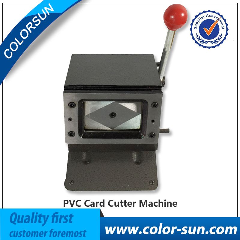 High quality Manual PVC card Cutting Machine for Business Name ...
