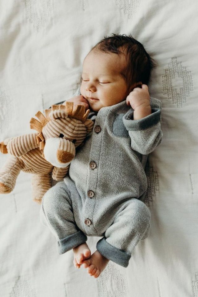 Baby Boy bequeme Kleidung Strampler – Bine