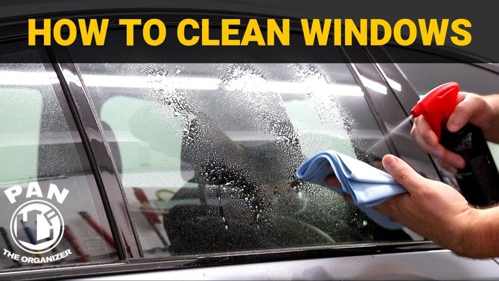 HOW TO CLEAN CAR WINDOWS LIKE A PRO !! YouTube (With