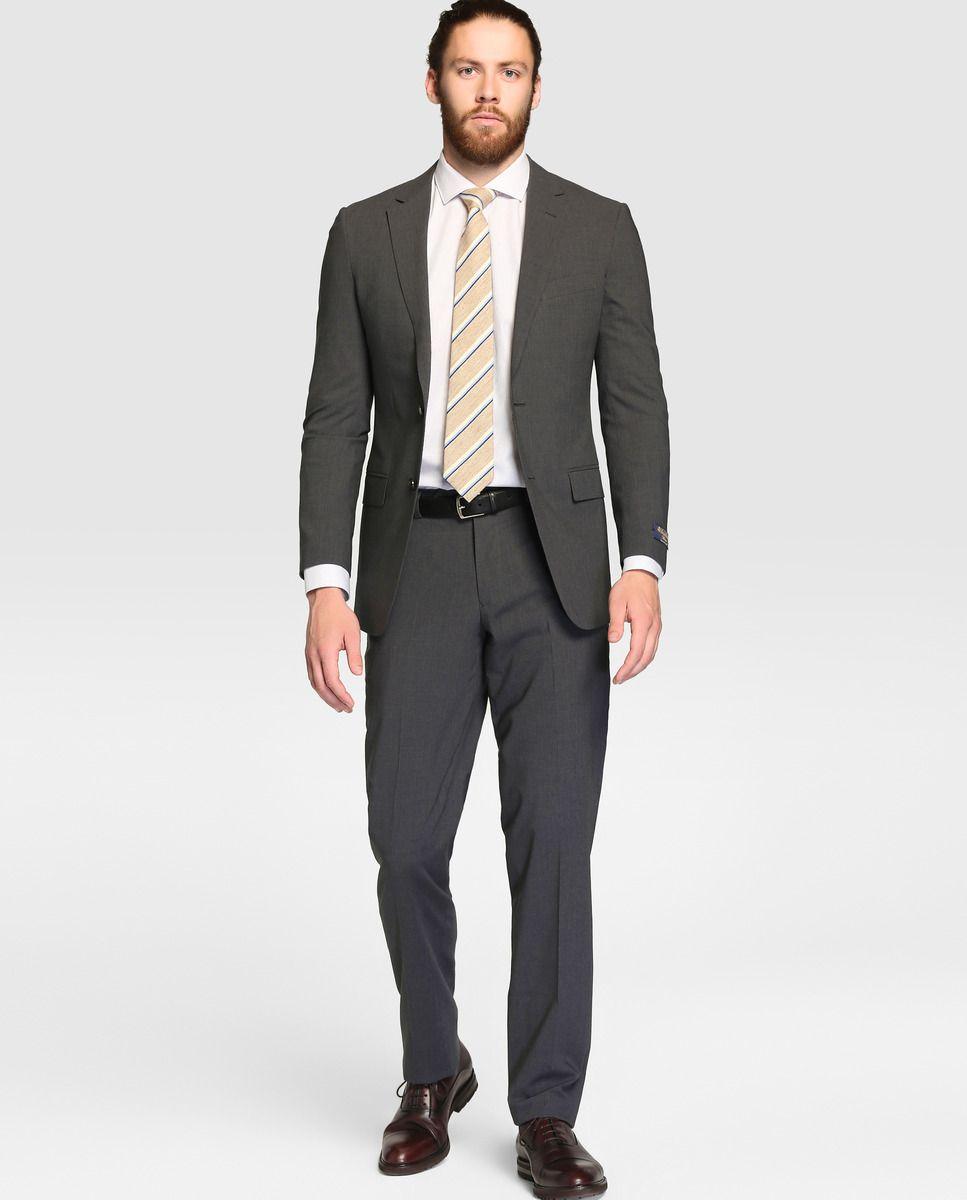 4b92c55ba8 Traje de hombre Brooks Brothers slim liso gris · Brooks Brothers · Moda · El  Corte Inglés