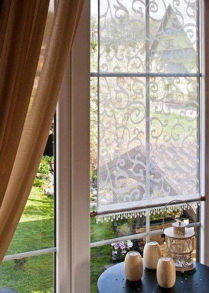 gardinen schenken dem raum einen besonderen look man kann auch einfach den vorhang selber. Black Bedroom Furniture Sets. Home Design Ideas