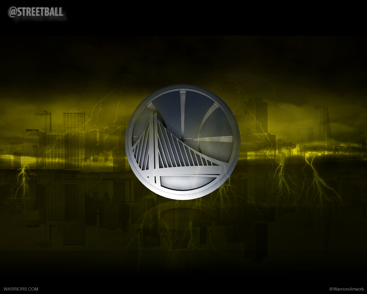 Golden State Warriors Logo Art Wallpaper Golden State Warriors