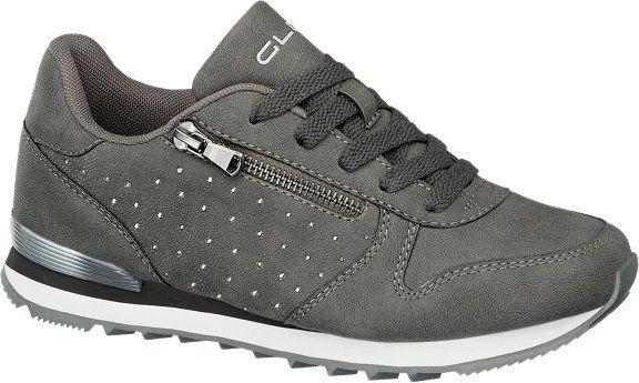 Damen Sneakers von Graceland in grau