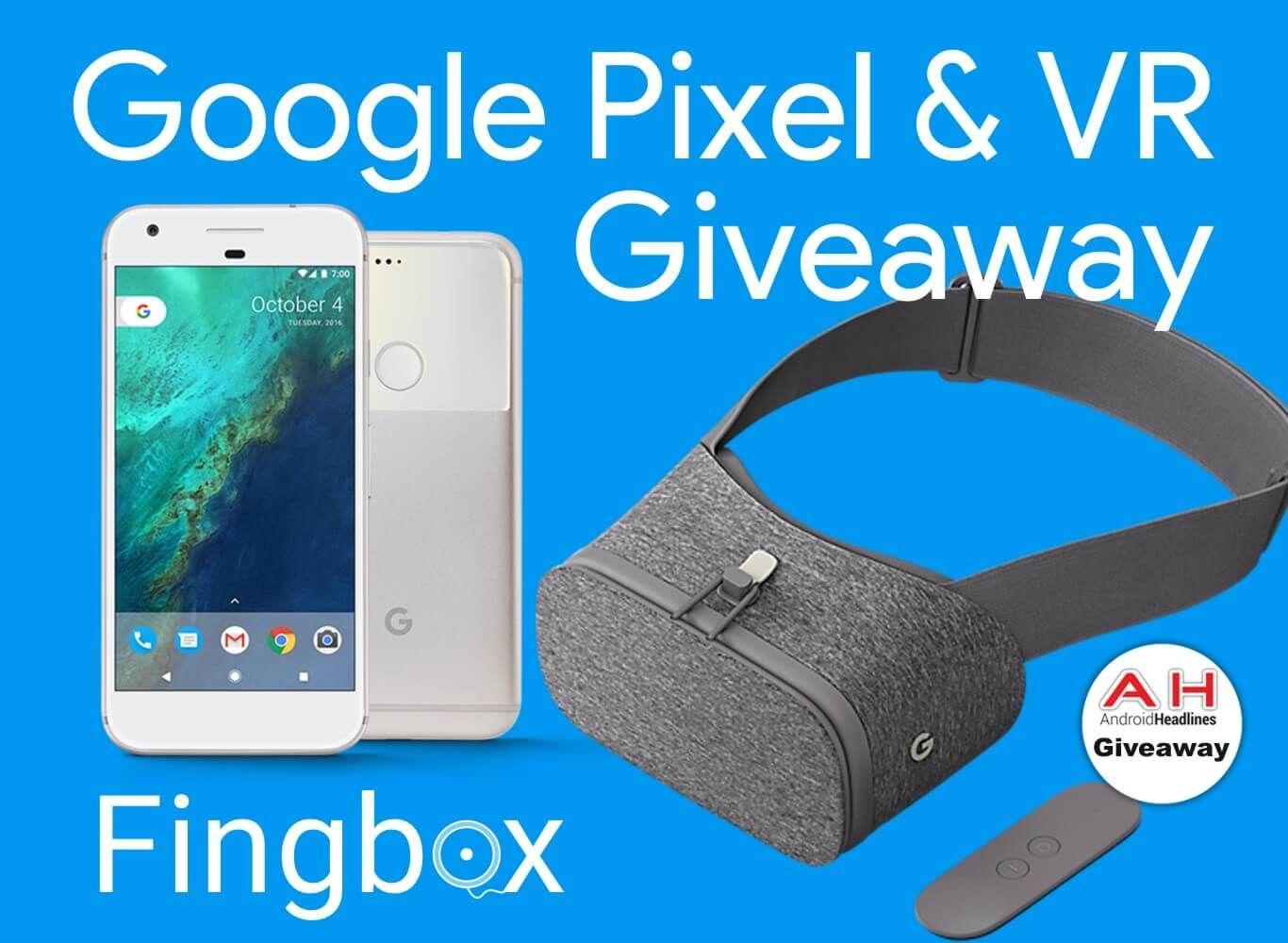 [Winner Announced]Pixel VR Bundle Giveaway Win A Google