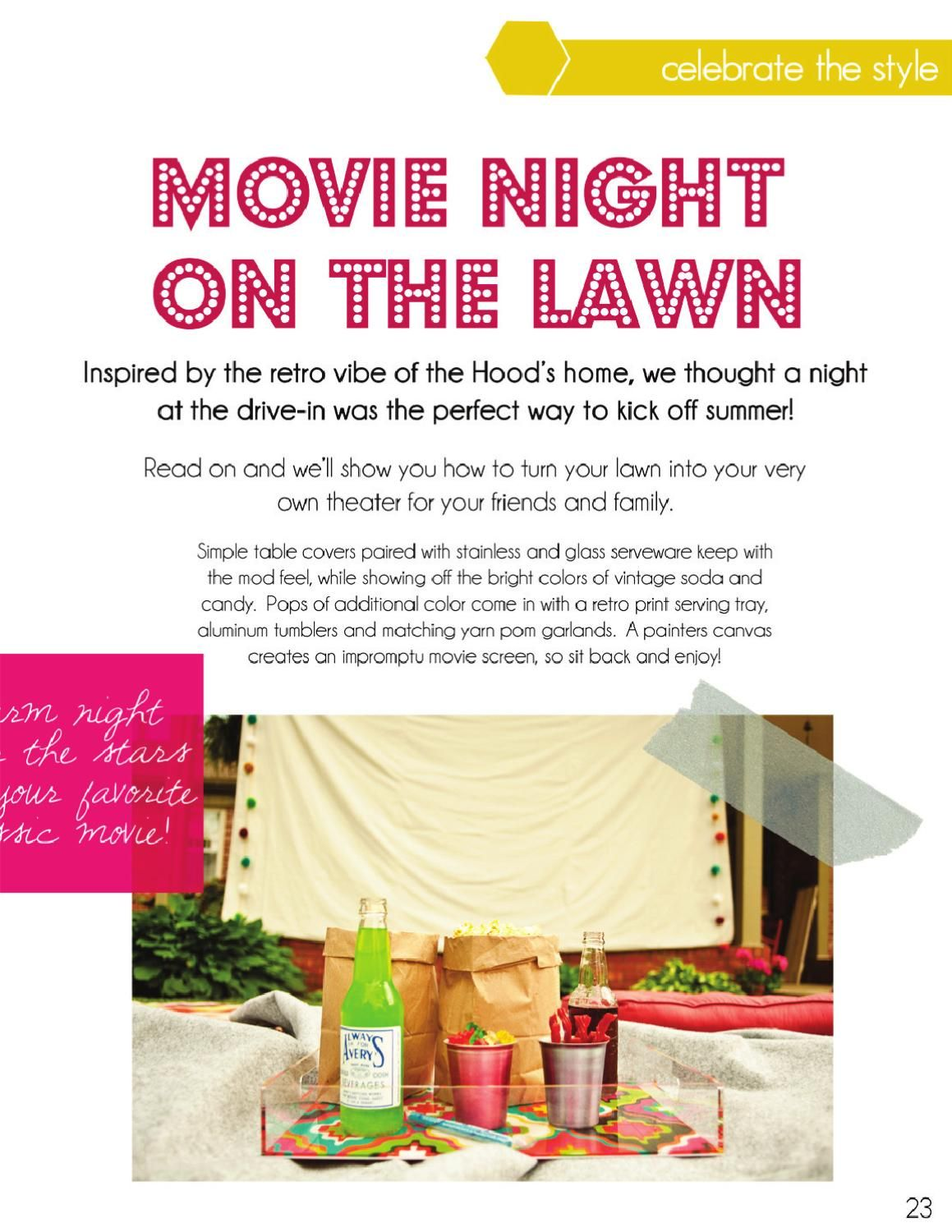prairie hive magazine issue 1 outdoor movie nights
