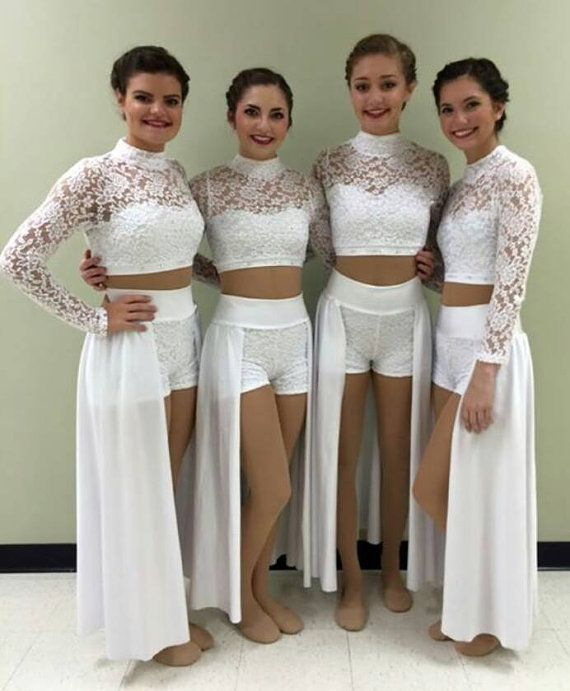 6efee98a2a7a Lace Lyrical Dance Costume with BLING (style 88-42)! Any color