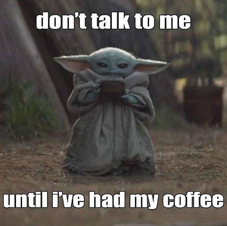 1 357 Likes 2 Comments Star Wars Starwarsparody 501 On Instagram Someone Buy Me One Of These Custom Baby Yoda Mugs Yoda Funny Yoda Meme Yoda Pictures