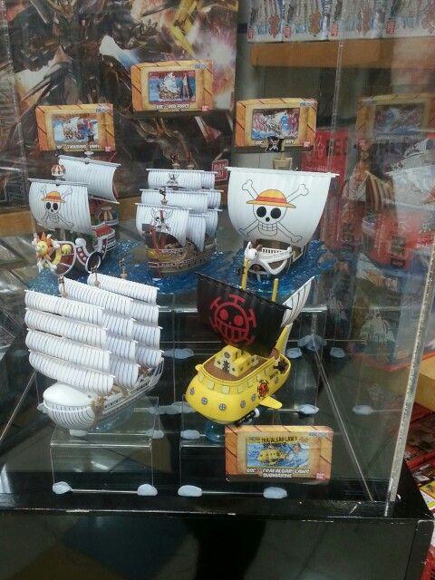 One piece ship model
