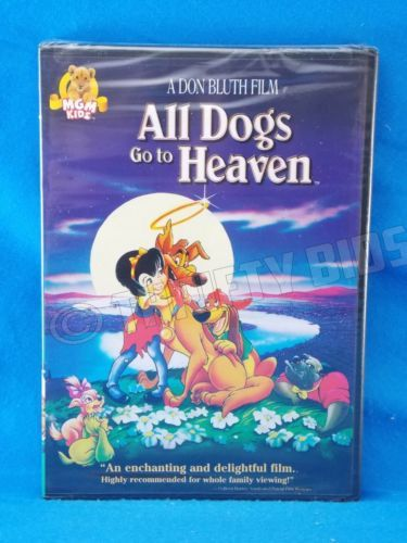 All Dogs Go To Heaven Dvd 1989 Dvd Cash Edition Animation Mgm Kids