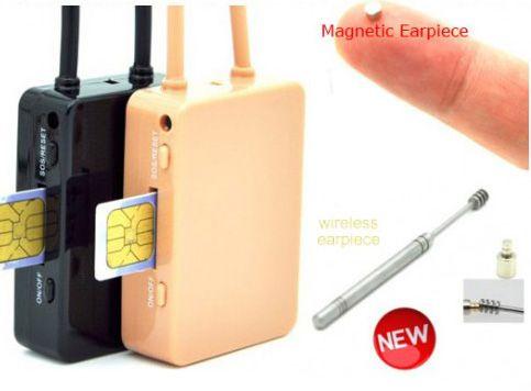Tai nghe siêu nhỏ không dây hộp GSM