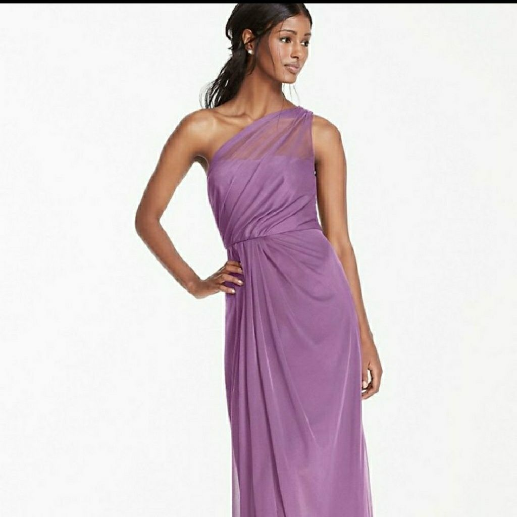 David\'S Bridal Wisteria Color Bridesmaid Dress   Products