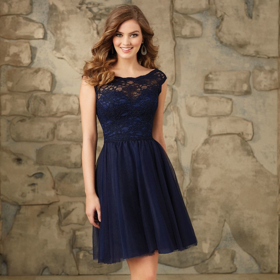 Navy-Blue-Short-Cocktail-Dress- | Navy Cocktail Dress | Pinterest ...