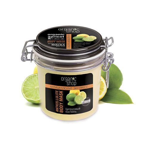 "Photo of Anti-cellulite body mask ""Apricot & Citrus Oils"" Organic Shop – F&F Skin"
