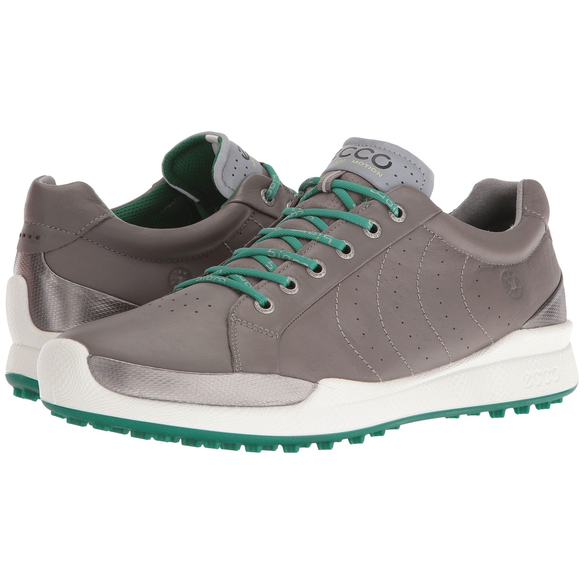 Ecco Biom Hybrid Hydromax Golf Shoe - Grey Pure Green  49462cfa22