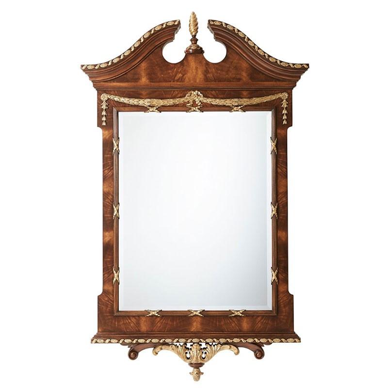 The India Silk Bedroom Mirror | Theodore Alexander AL31038 ...