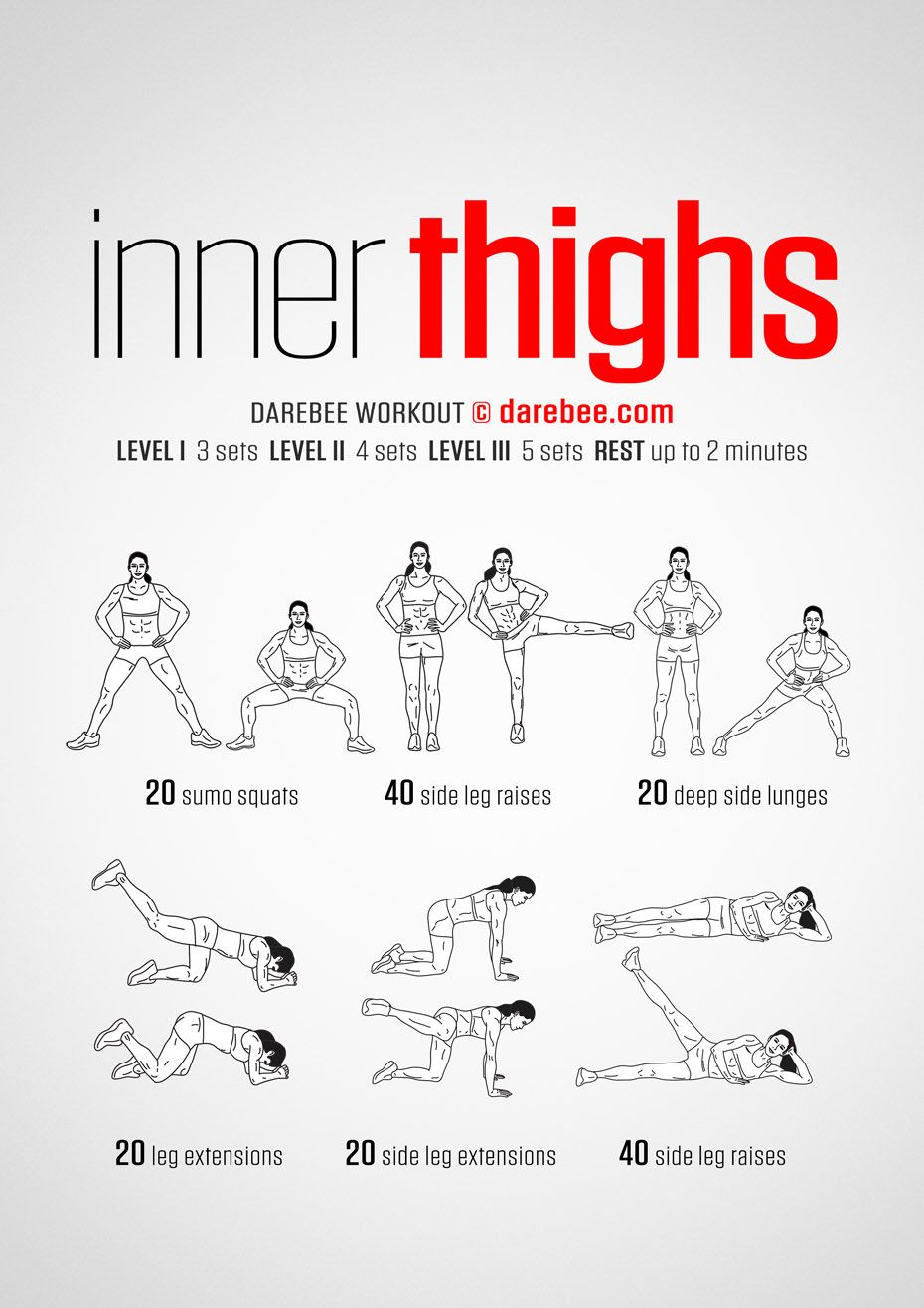 Inner Thighs Workout  Fit  Pinterest  Thighs Workout and Exercises