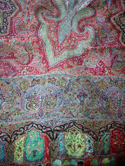 Antique Kani Jamawar Rumal