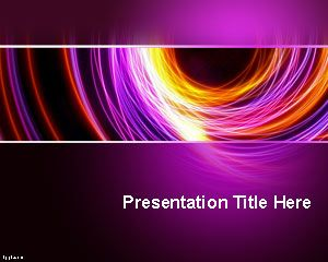 Abstraction powerpoint template free powerpoint templates incorporate a soothing effect in your next presentation and use the color that is synonymous with meditation through free abstract purple ppt template toneelgroepblik Image collections