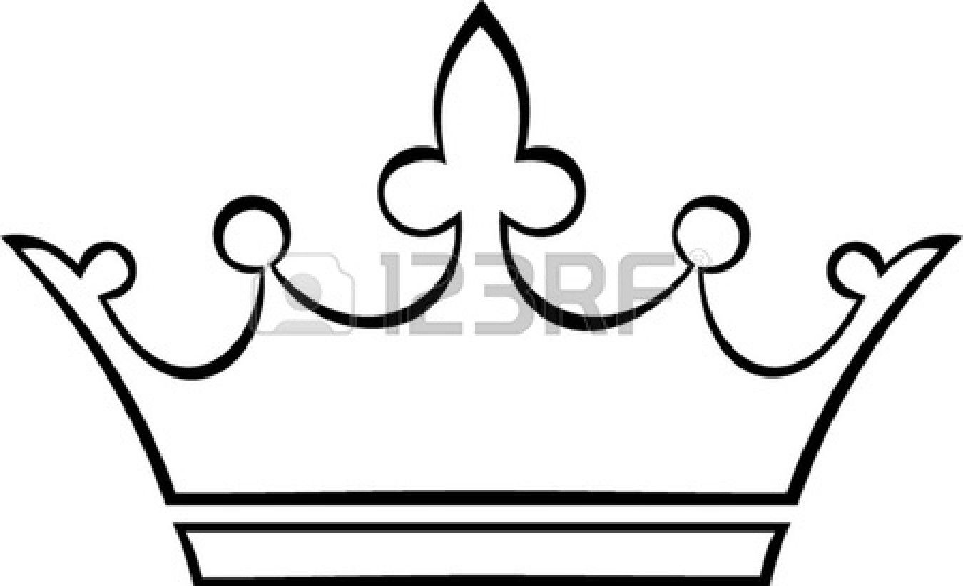 Simple Crown Outline  Clipart Panda  Free Clipart Images